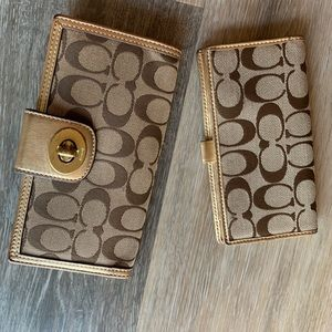 Coach Wallet & Checkbook Cover